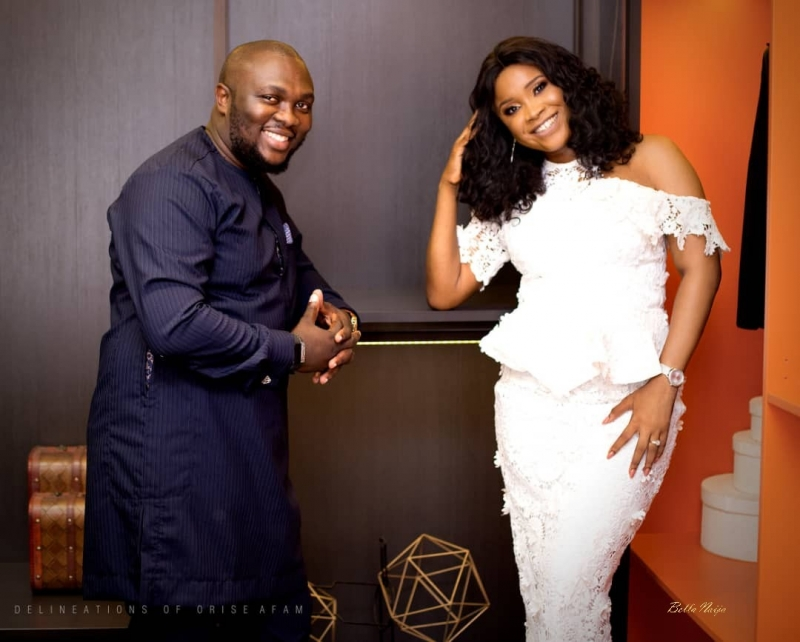 Pre-wedding photoshoot of osagie and efe