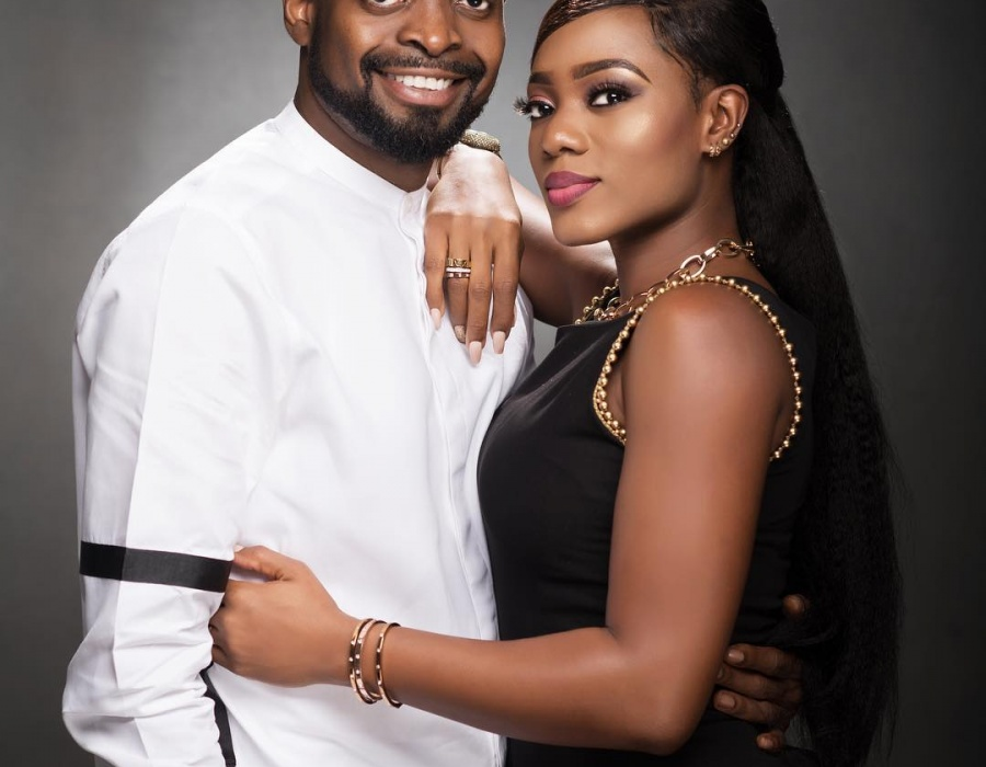 Basketmouth And Wife, Elsie Celebrate 8th Wedding Anniversary
