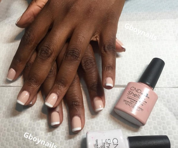 Bridal Nail Polish Ideas For Dark-Skinned Brides