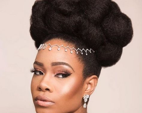 Natural Hair Brides - Slay This Hairstyle For Your Wedding Day