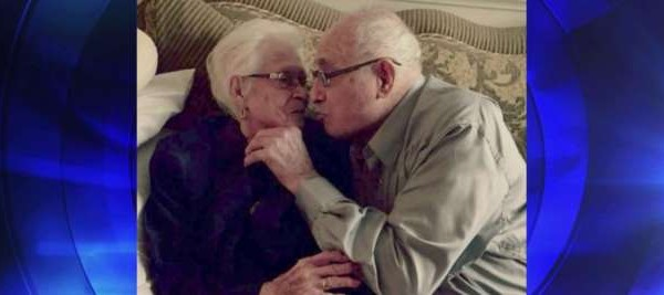 Old couple celebrate 82nd wedding anniversary