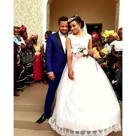 Photos From Actress Sugar Chika's White Wedding Ceremony