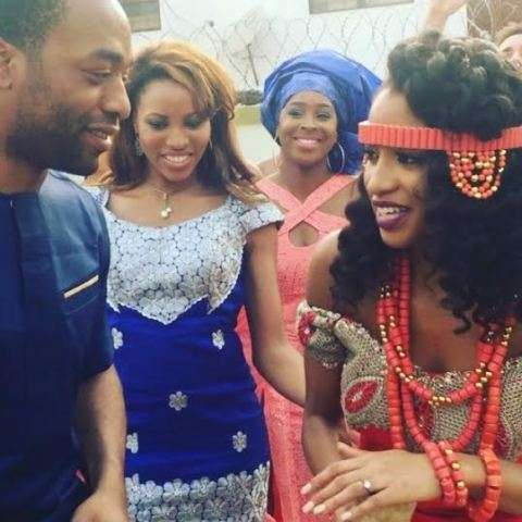 Actor Chiwetel Ejiofor's sister Kandibe weds traditionally in Enugu